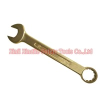 Copper Alloy Open and Box End Combination Wrench,Non sparking Tools
