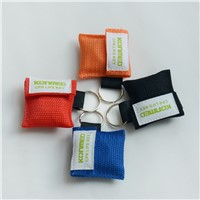 Disposable cpr mask keychain one way valve for cpr traing(logo service)