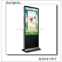 "Hot Sales 42"" Self-Standing Interactive Samsung LCD TV Display"