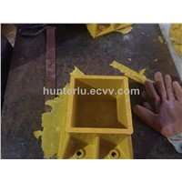 FRP fiberglass handrail fitting connector