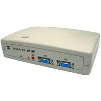 high steablility VGA Splitter switcher 2 input 4 output