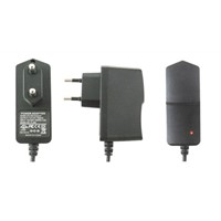 European Type CCTV power adapter DC12V 1A power adapter power switch power supply for CCTV camera