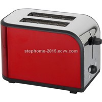 NEW Good Design of The Stainless Steel 2 Slot Toaster