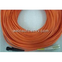 Fiber Optic Patch Cord MTRJ-LC OM1 OM2 multimode duplex PVC LSZH