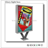 2015 Hot Sales Double Face Advertising Scrolling Light Box