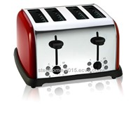 Hot sell 1700W 4 Slice Stainless Steel Toaster(Model No.:M-ST-0401 )