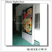 Advertising Scrolling City Board Display board