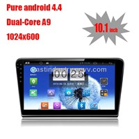 "10.1"" Android 4.4 car navigation for VW new Bora  with 1024 * 600 resolution and DVR camera input"