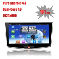 "10.1"" Android 4.4 car navigation for VW magotan with 1024 * 600 resolution and DVR camera input"