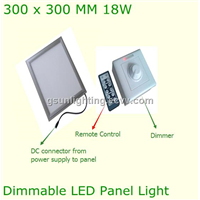 18w Square Flat LED Panel Ceiling Lighting Dimmable Lighitng