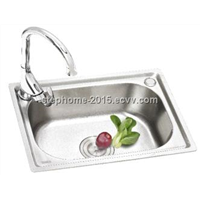 Single Bowl Stainless Steel Sink unique kitchen sinks(Model no.:5238)
