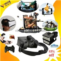 3D Virtual reality glasses for samsung/iphone/sony 3D enjoyment