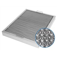 Honeycomb Range Hood Filter for Catching Oil Smoke