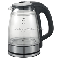 Good Quality Electric Cordless Glass Water Kettle(Model No.: M-GK1501)
