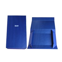 Foldable paper box to save shipping cost