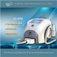 Wrinkle removal and skin tightening beauty equipment