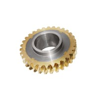 Composite worm gear