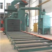 conveyor type shot blasting machine for steel plate