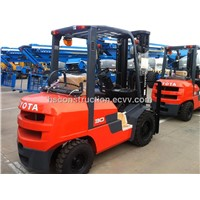 Used toyota 3t forklift excellent working condition