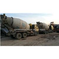 Heavy used Isuzu Mixer truck with 8-10 CBM capacity
