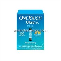 One Touch Ultra Blue Test Strips 100ct