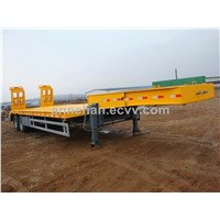 SHMC 2 AXLES EQUIPMENT LOW BED TRAILER WITH ISO CCC ( Q234Material Hot sales)
