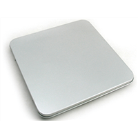 customised rectangular CD tin case with hinge sale