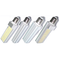 7W G24 E27 LED Plug-in Light Bulbs 4 Pins or 2 pins Plug-in bulb