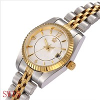 All Stainless Steel Watch Man Automatic Movement Good Quality 3ATM Waterproof