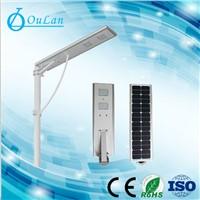 all in one solar integrated street light 5w-80w