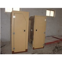 fiberglass locomotive toilet room