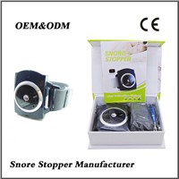 Anti snore device wrist strap infrared snore stopper