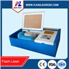 high speed Ruida 40w mini laser engraving machine for rubber/paper/wood/acrylic