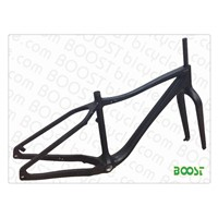 carbon fatbike snowbicycle frames Thru AXEL Disc brake Fat bike(26')Max 4.7'tyre FM011
