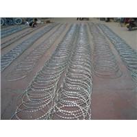 razor barbed wire/stainless steel razor barbed wire/razor barbed wire factory