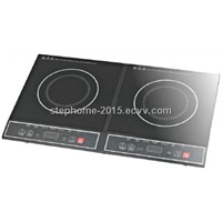 Good Design Double Burner Induction Cooker(Model No.: M35-S01)