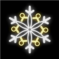 Excellent Window Decoration flashing snowflake light