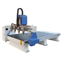 4 Spindles Wood CNC Router Machine RF-1325-4