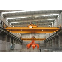 Double Beam Grab Crane Factory With CE ISO SGS GOST