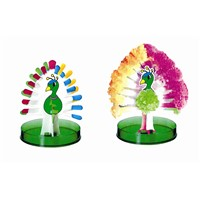 Lovely peacock for growing paper crafts