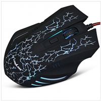 LuguLake Breathing-Air Ergonomic Optical Mouse