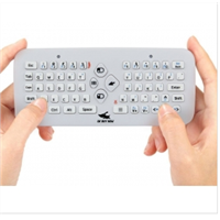 OkBuyNow Cordless Air Fly Mouse Keyboard Combo For PC, Pad, Andriod TV Box, Xbox360, PS3 & HTPC/IPTV
