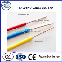 PVC Insulated Electrical Copper Wire