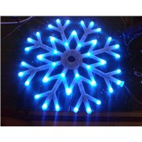 Window Decoration flashing snowflake light