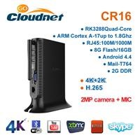 New Arrival High quality CR16 HD android 4K RK3288 TV BOX full hd 1080p porn video android tv box