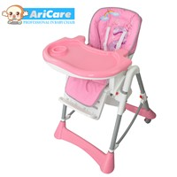 2015 New design higher quality folding adjustable feeding chair with big food trey