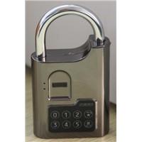 Fingerprint biometric padlock used in   gym locker, gun cabinet