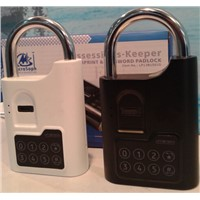 Fingerprint biometric padlock used in school locker