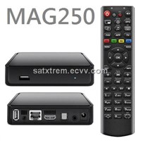 Hot Sale Full HD DVB S2 IPTV Box MAG250