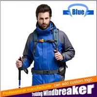 Outdoor Hiking Windbreaker Trekking Sportswear Waterproof Jacket with detachable liner
